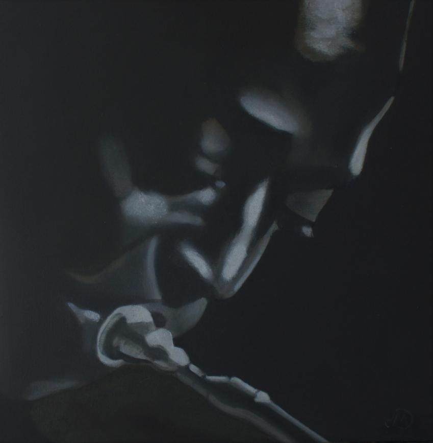 Miles Davis by Seignette